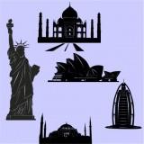 Сгради и градове
